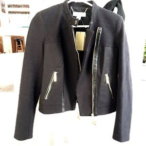 Michael Kors black jacket with gold accents size S